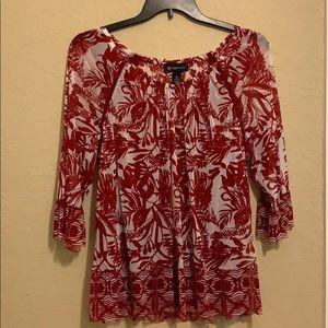 INC 2 piece camisole/blouse